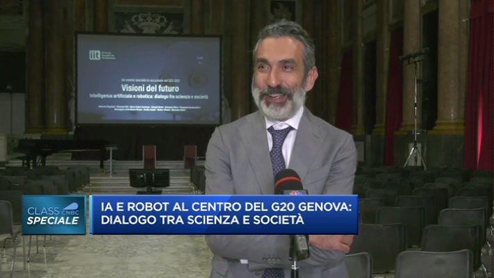 Intelligenza artificiale e robot al centro del G20 a Genova