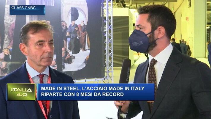 L'acciaio rinasce: i pesi massimi della siderurgia a Made In Steel